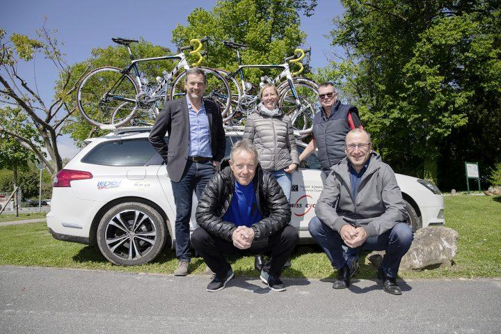 Le vélo pour réunir les quatre villages
