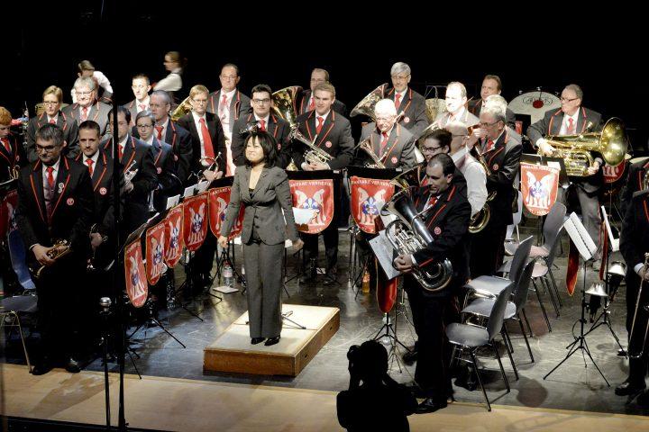 La Fanfare de la Verrerie  fait son cinéma à Saint-Prex