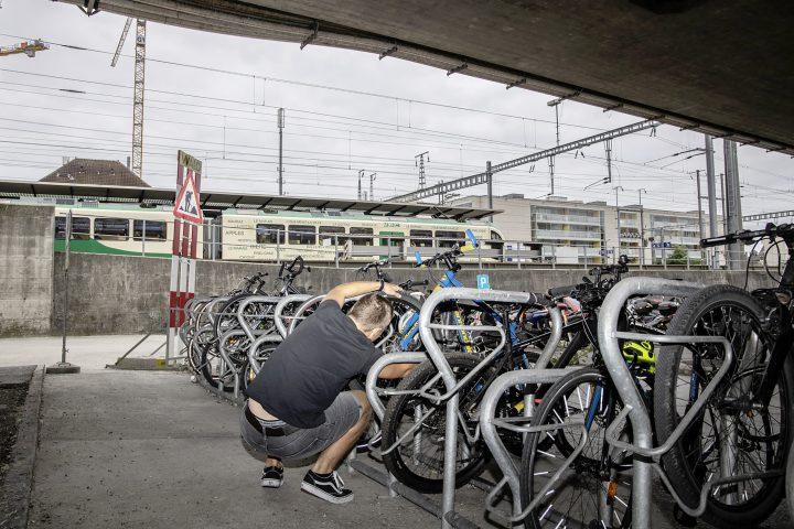 Les vols de vélos sévissent à la gare