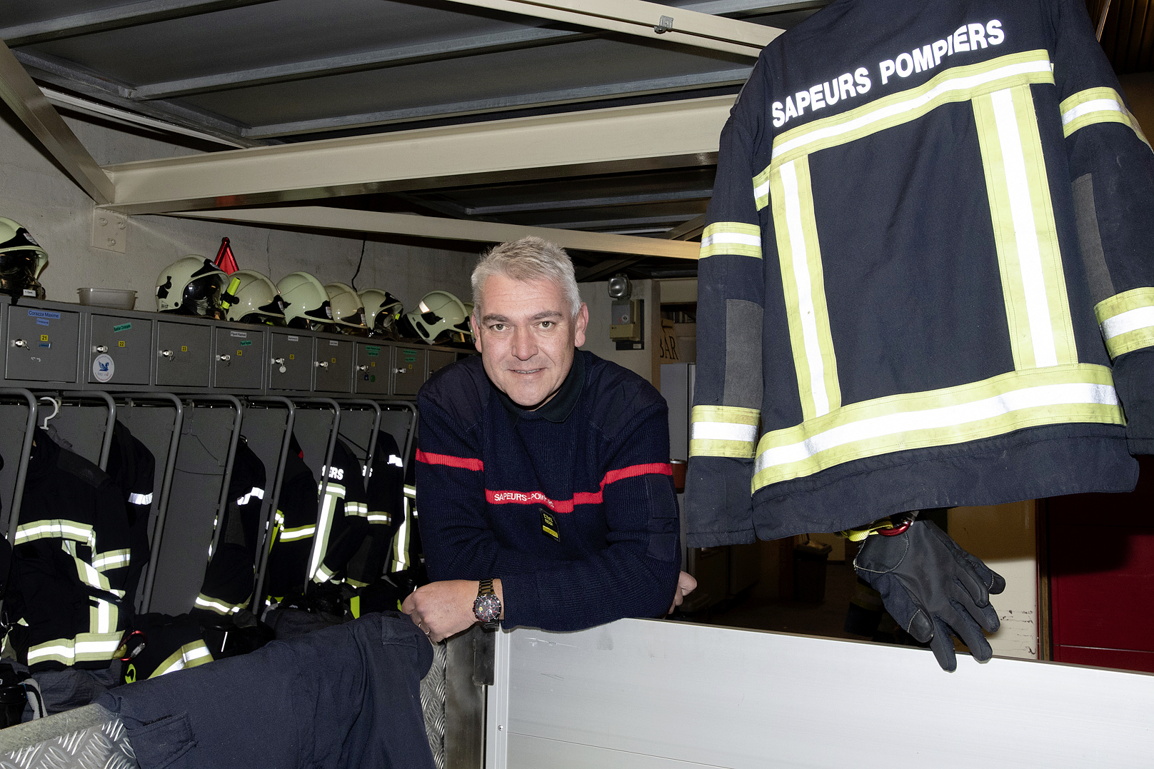 Nouveau foyer pour les pompiers