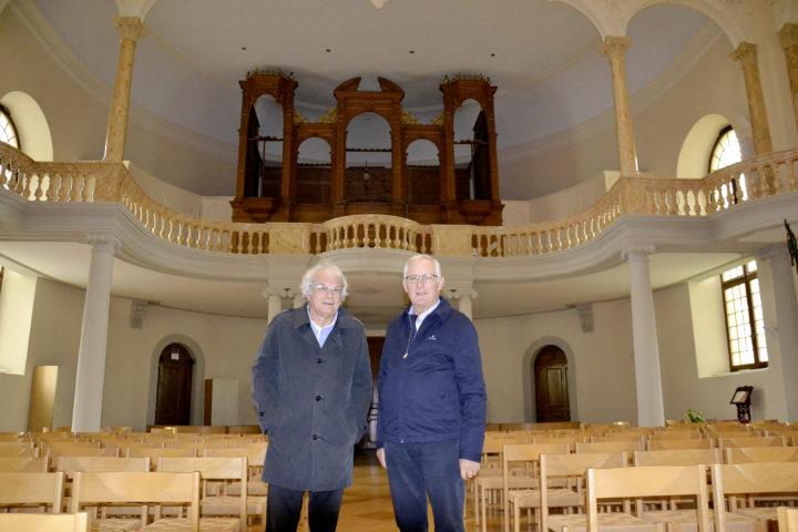Pour valoriser l'orgue du Temple