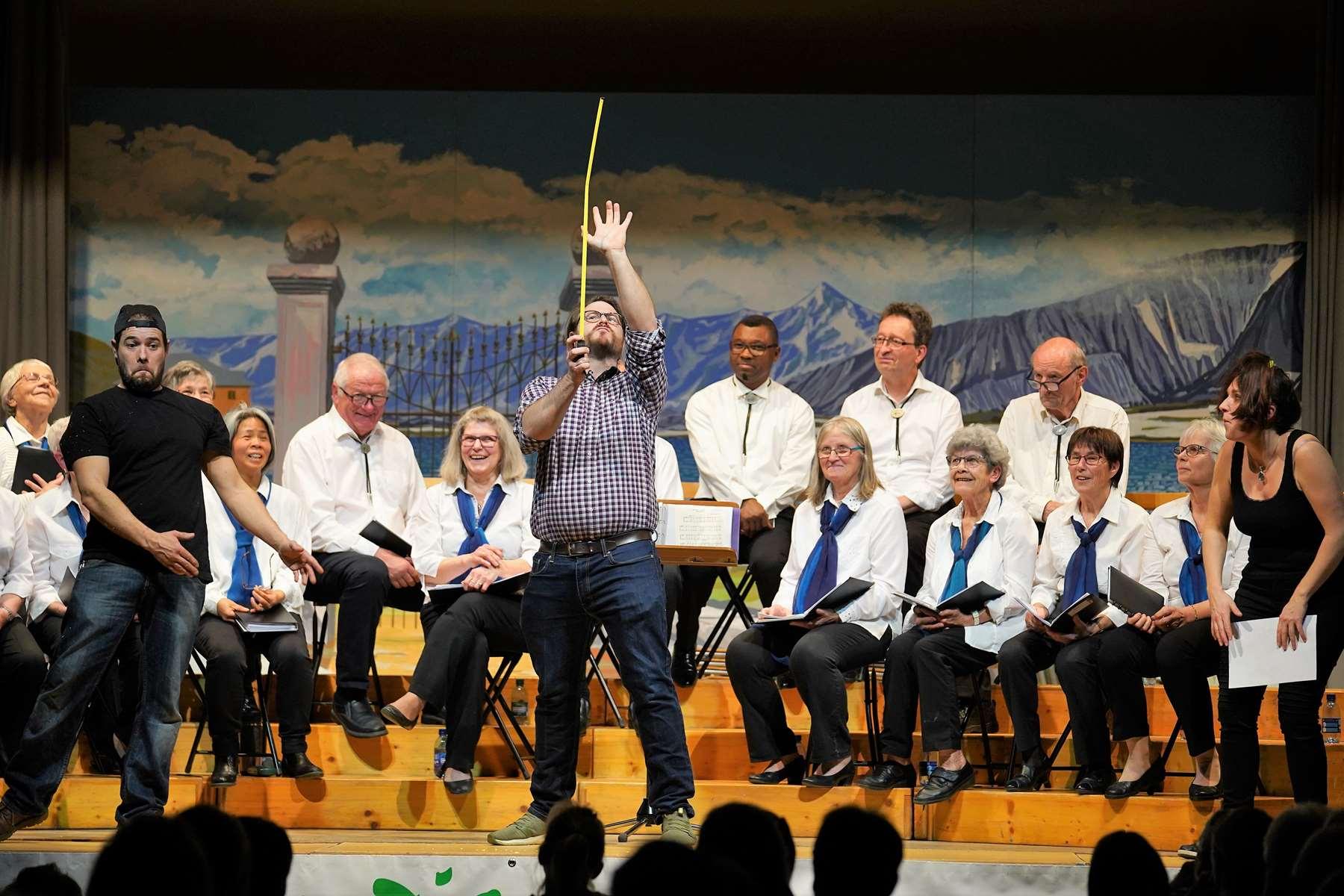 Soirée du chœur mixte La Mélodie de Brichy – La Paysanne