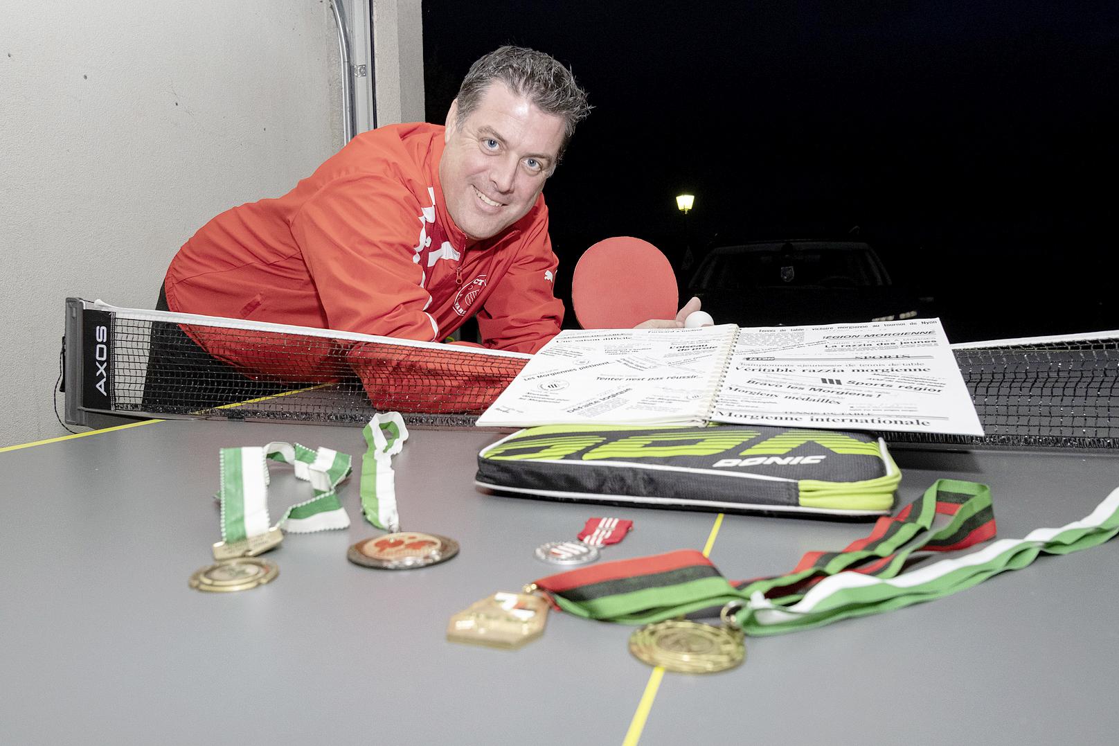 Au service du tennis de table morgien