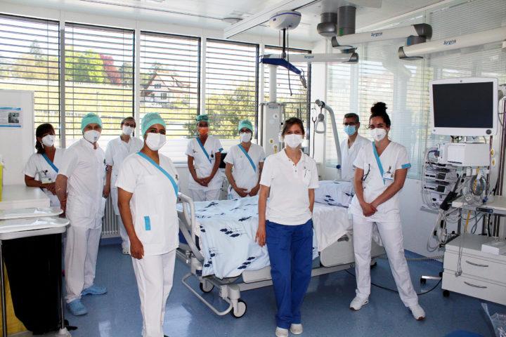 «Les soignants m'ont sauvé la vie»
