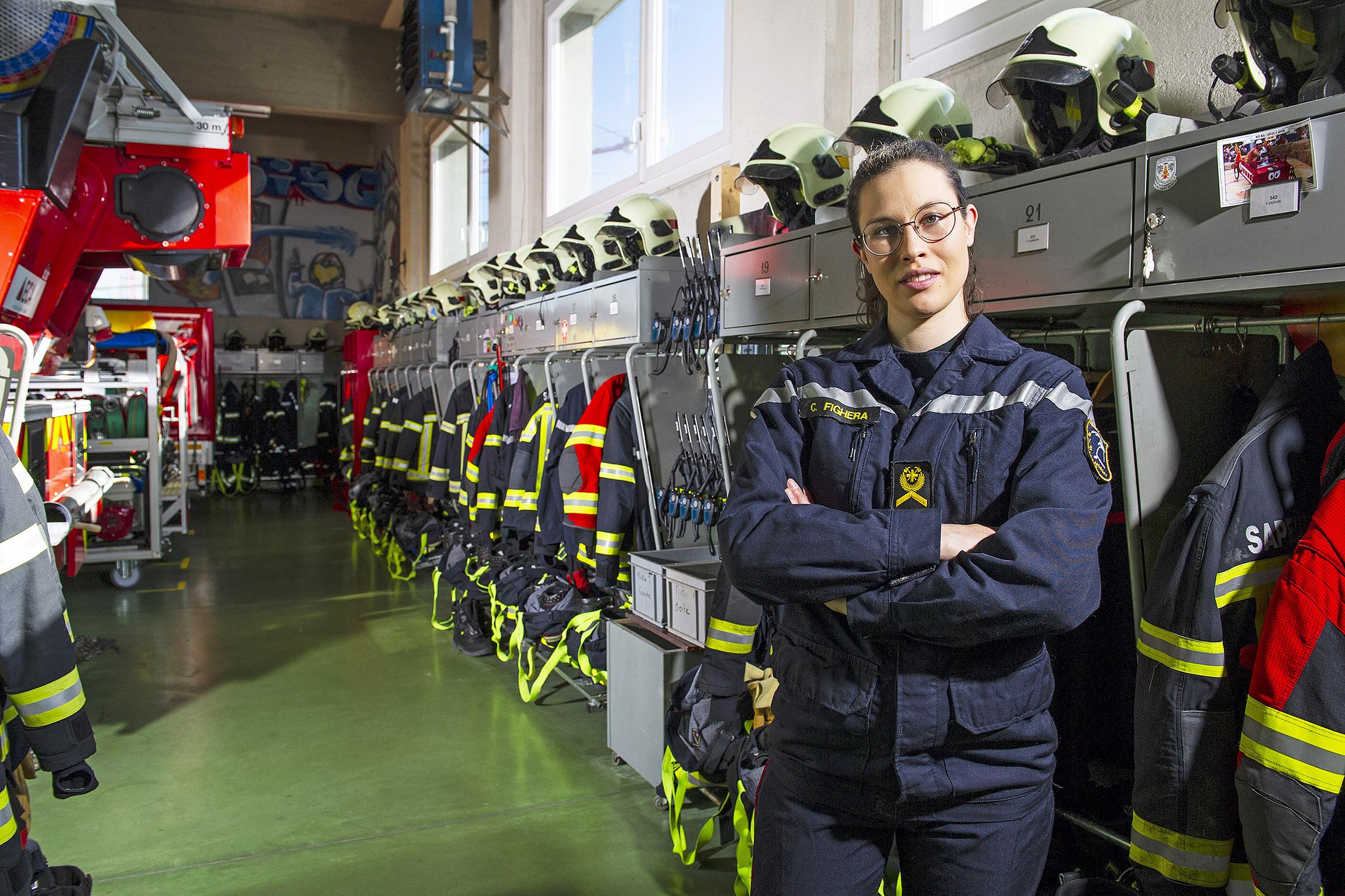 «Être pompier, c'est une fierté»