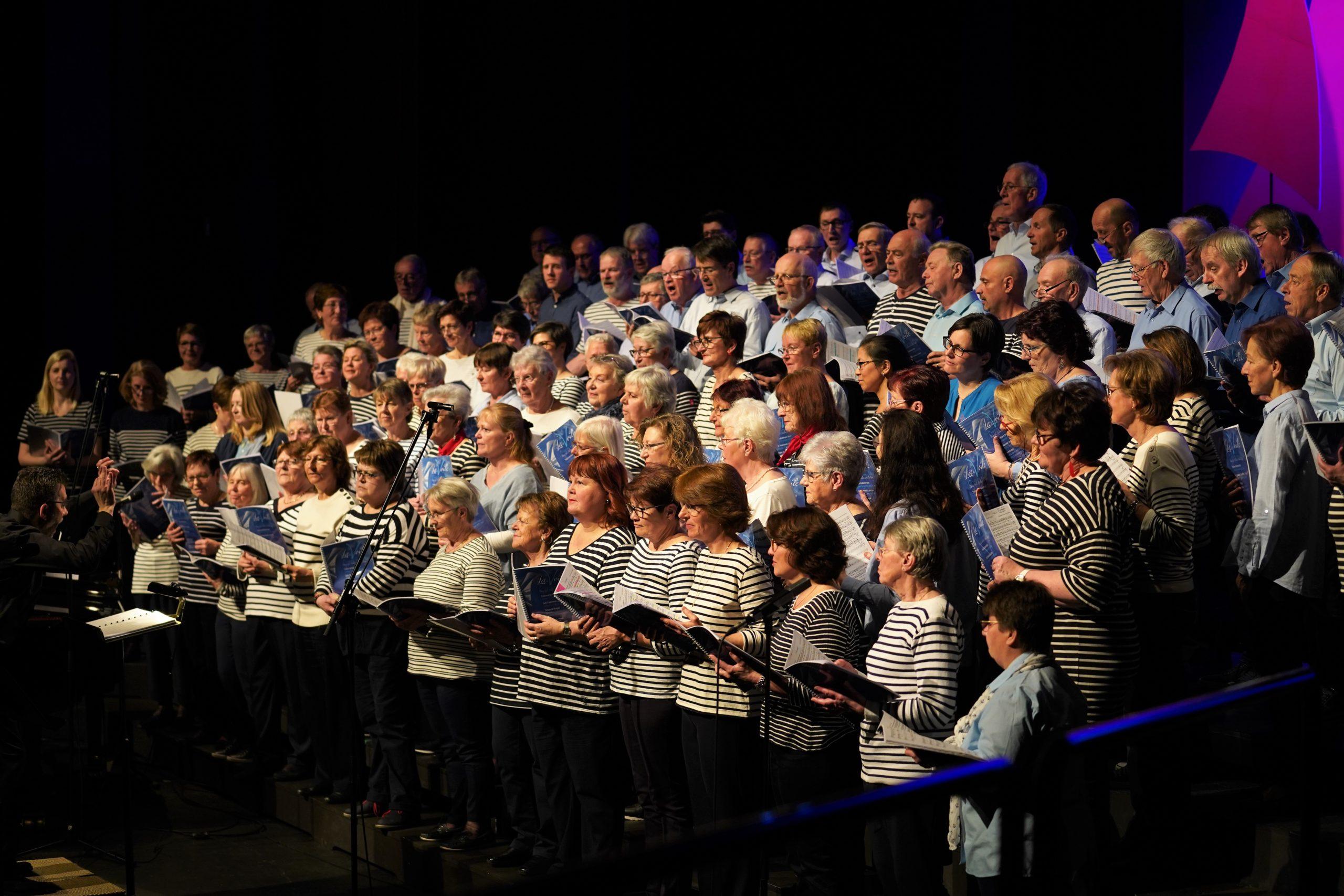 Soirée du chœur mixte La Récréation