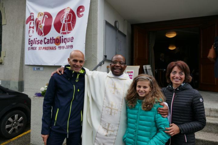 Saint-Prex: Retrouvailles paroissiales fortes en émotion