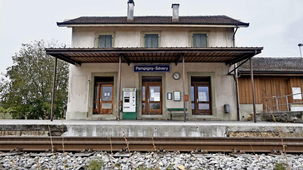 Pampigny s'accroche à sa gare