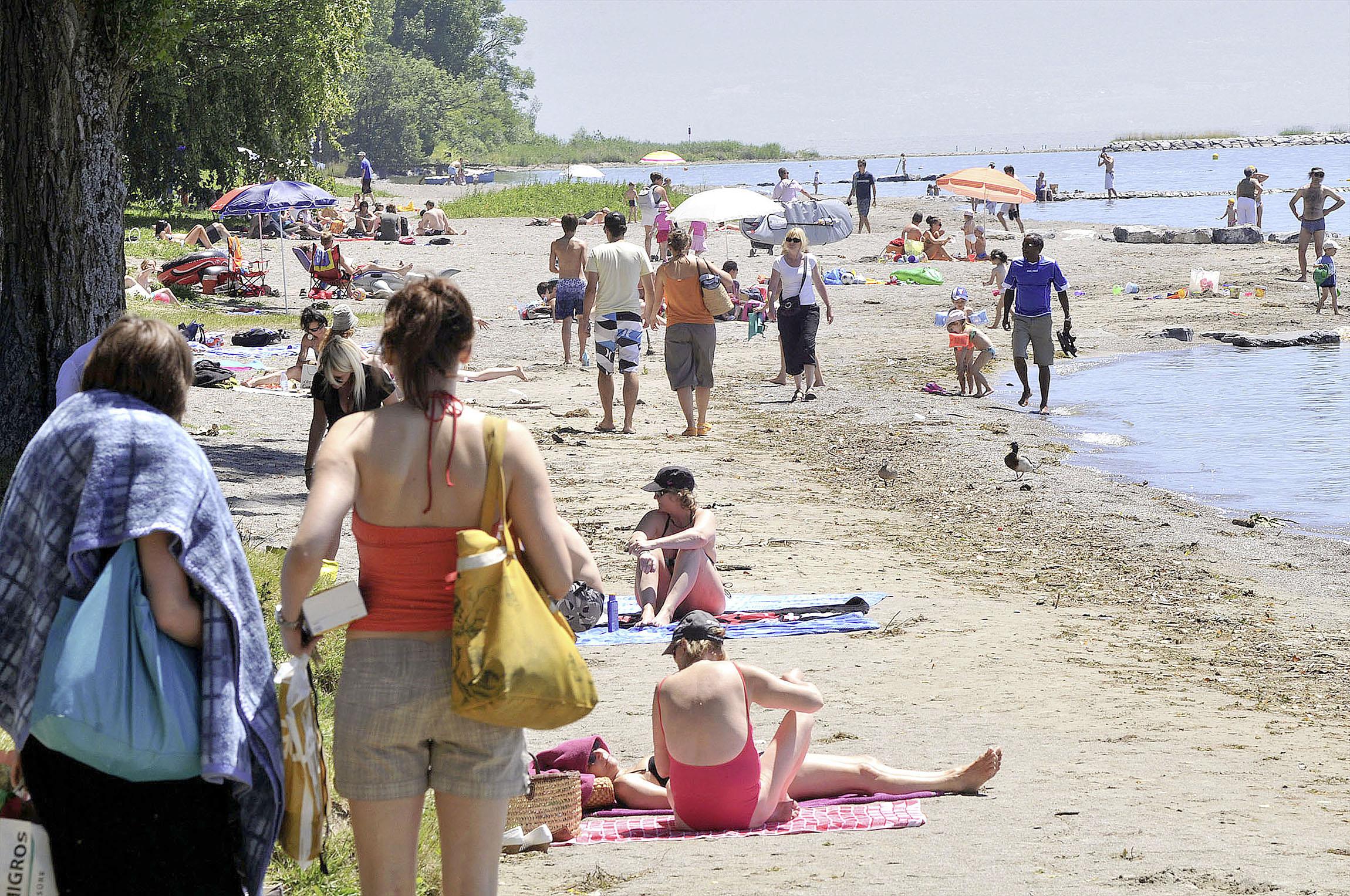 Une plage qui veut être exemplaire