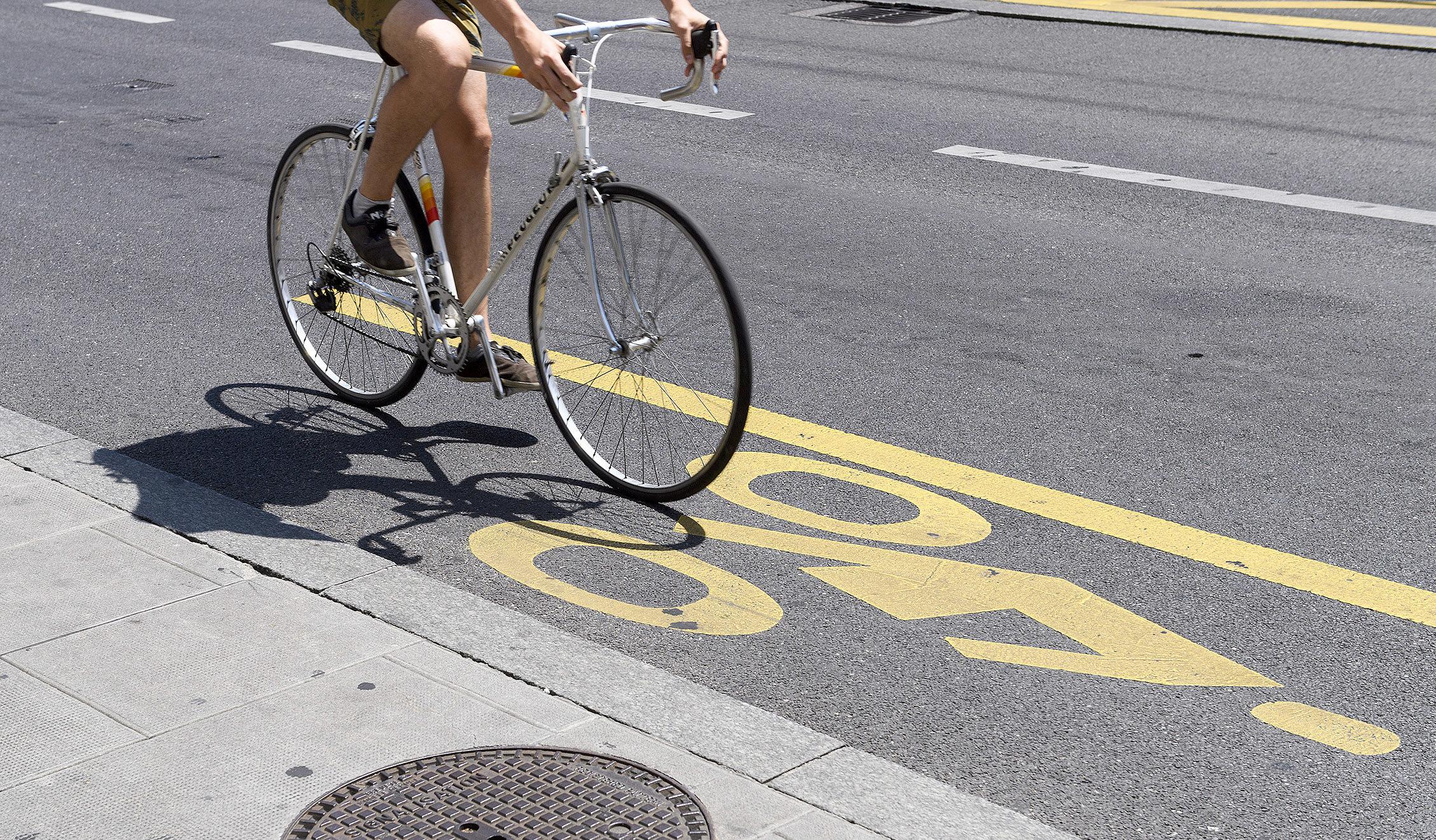 100 km de bandes cyclables en plus créées dans le canton cet été