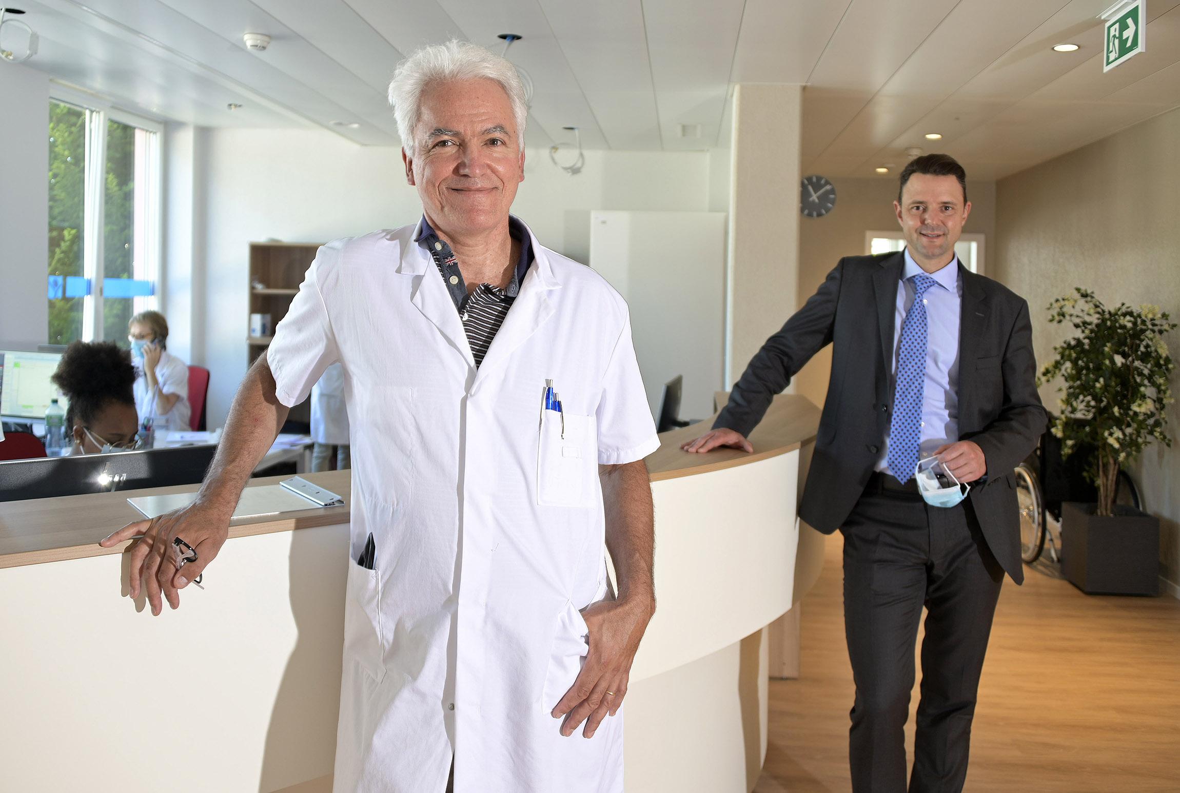 Les médecins de retour à l'hôpital d'Aubonne