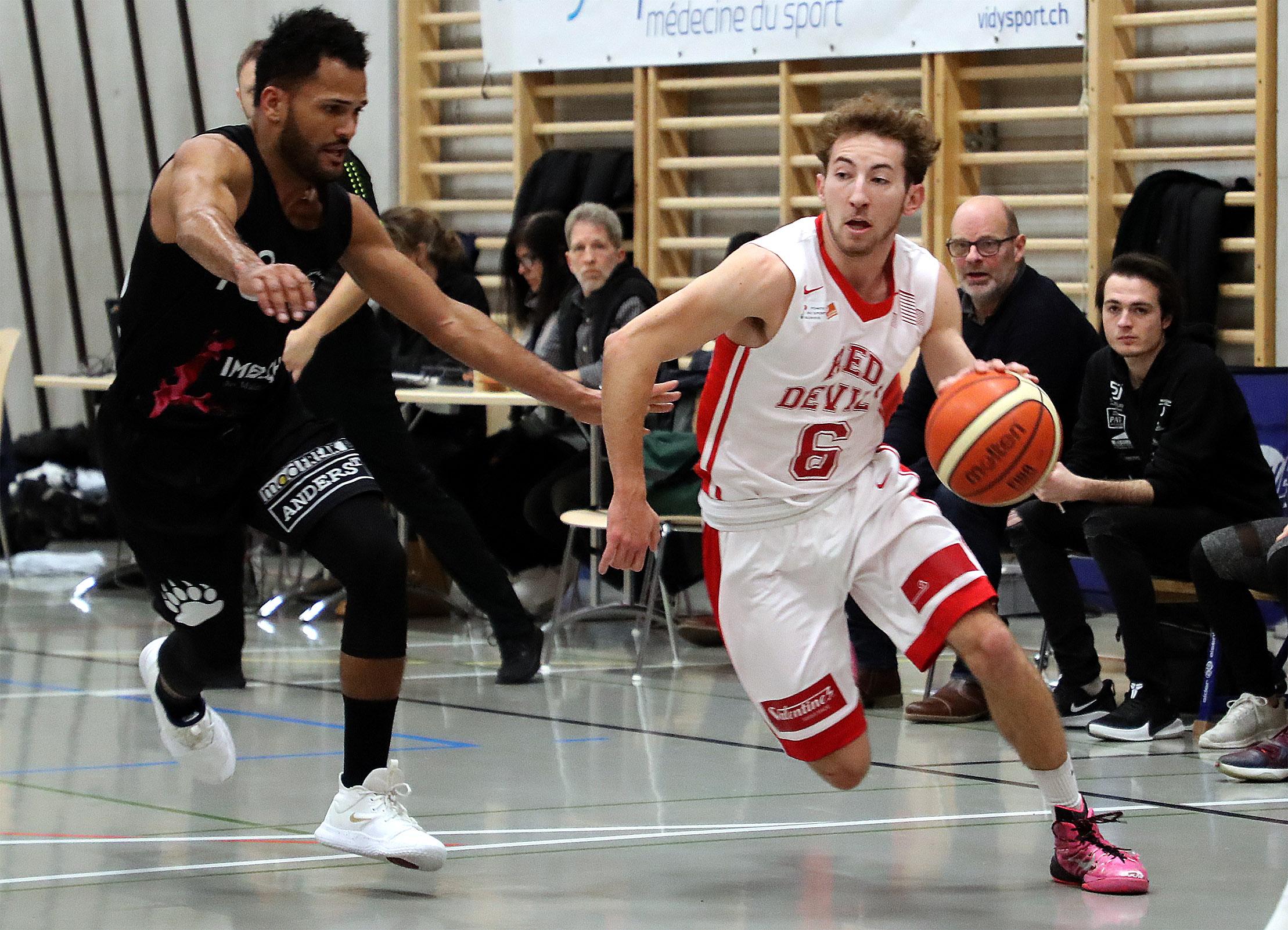 Le Red Devils Basket prend la balle au bond