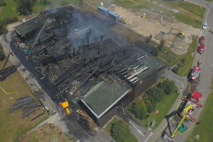 Saint-Prex: L'incendie de la déchetterie était un accident