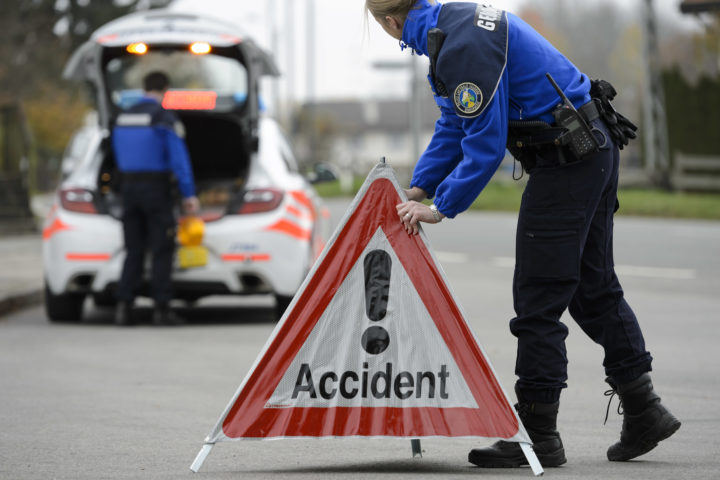 Accident sur l'autoroute A1