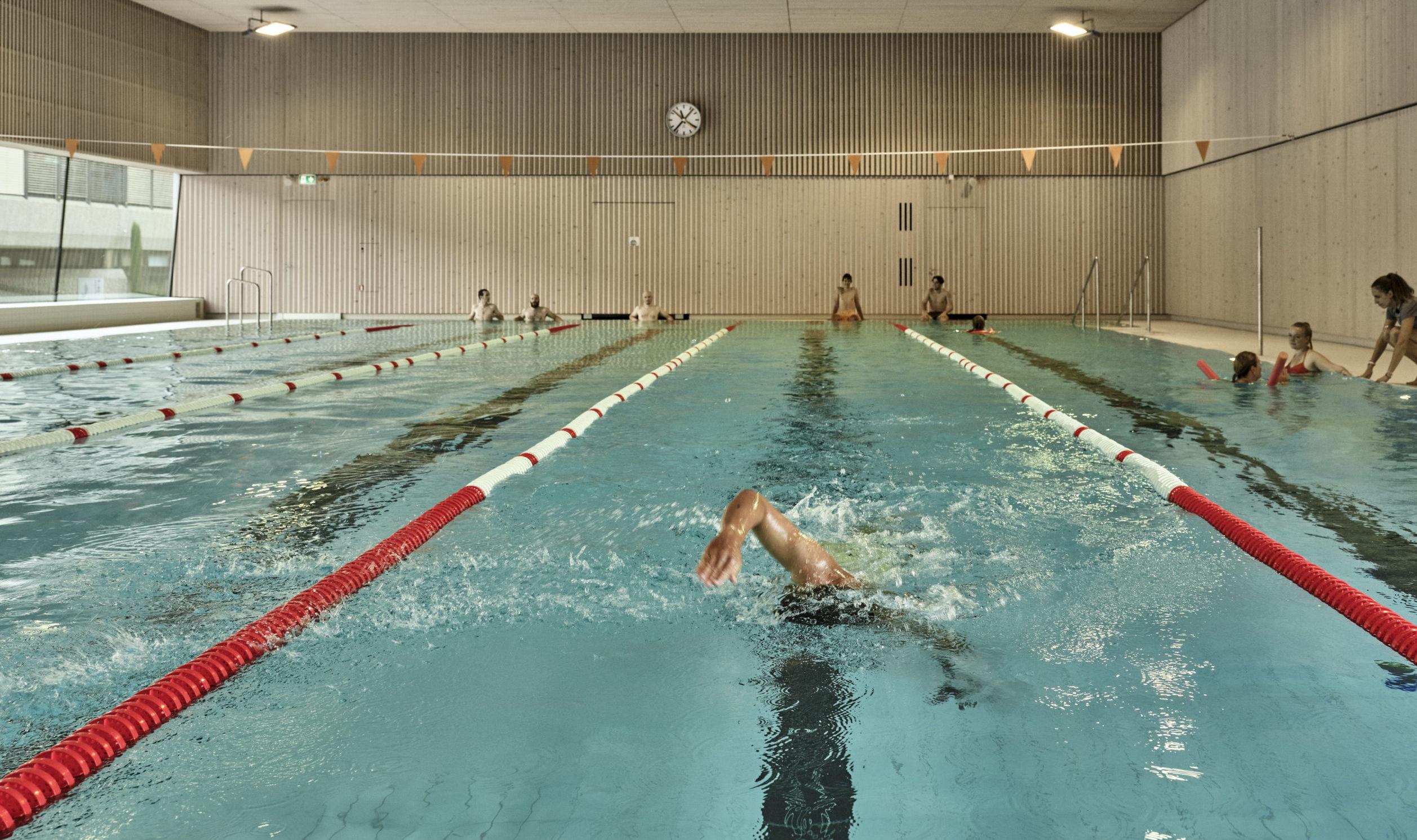 Saint-Prex: la piscine couverte prête à accueillir son public