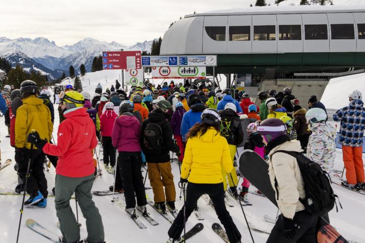 Dans les stations de ski, on ne veut pas de contingents