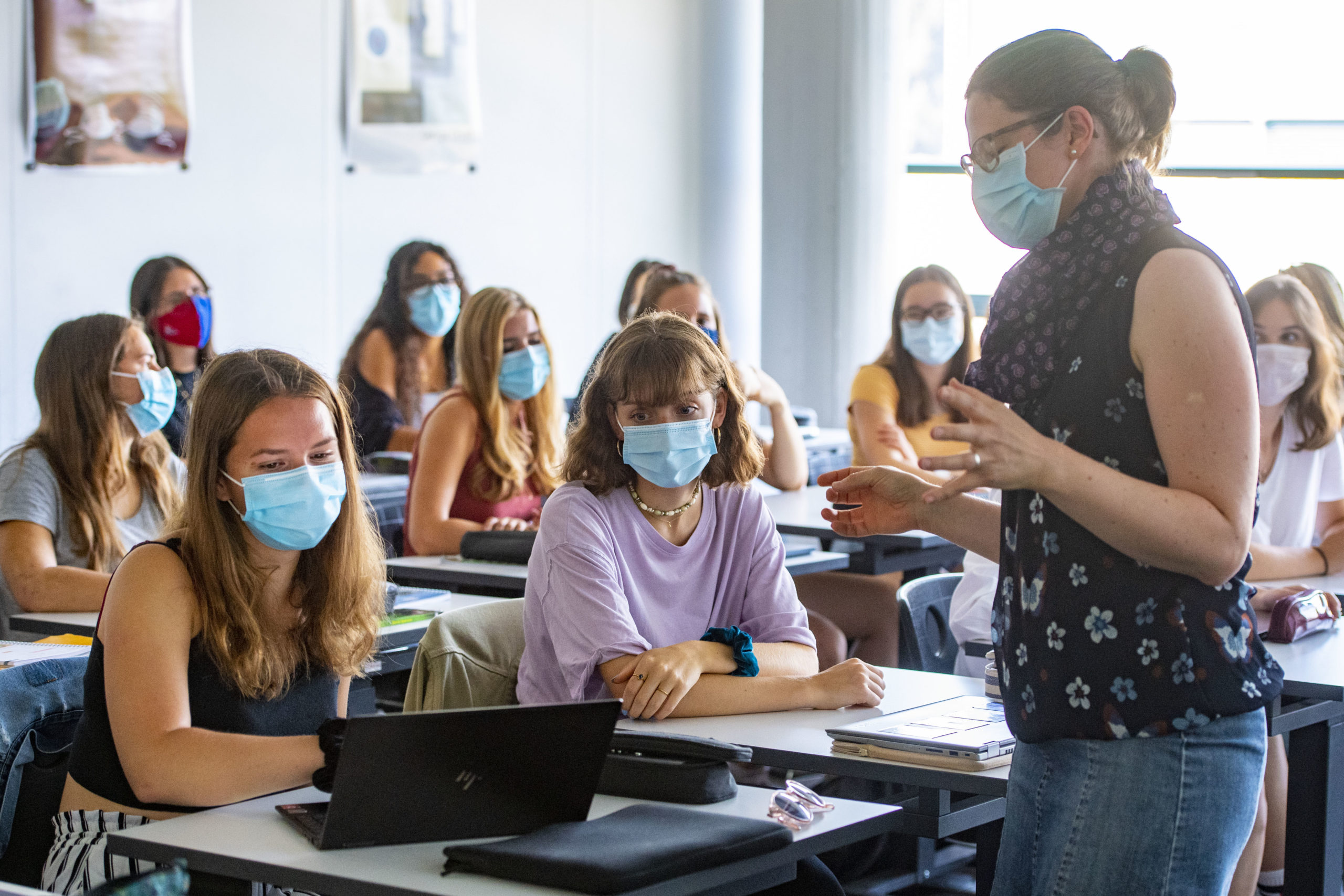 Rentrée scolaire: le masque obligatoire durant trois semaines