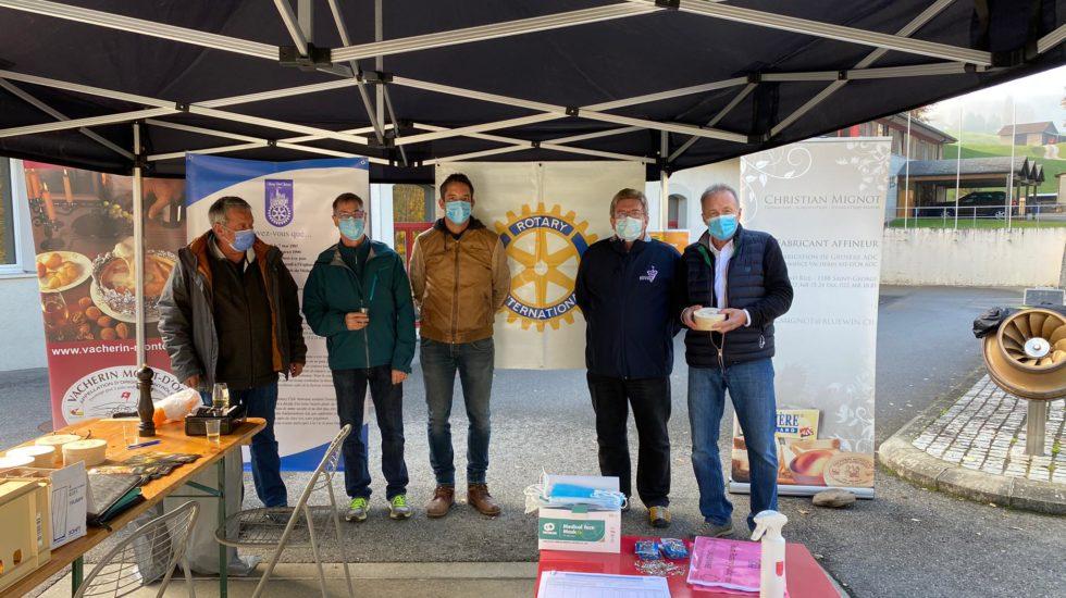 Le Rotary s'est accroché au Marchethon