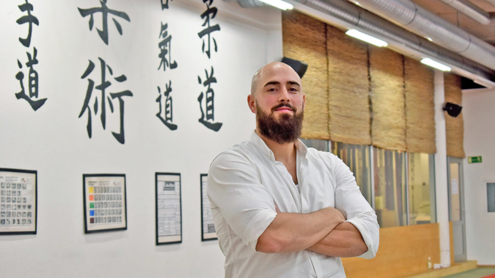 Le fan de Bruce Lee a su devenir zen