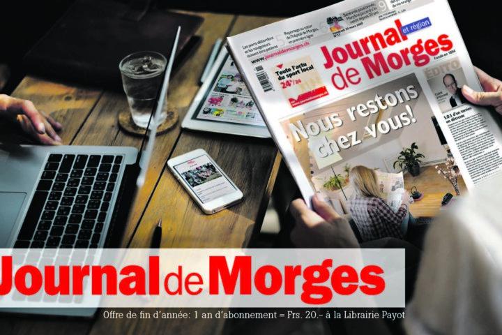 Rejoignez les «Amis du Journal de Morges»