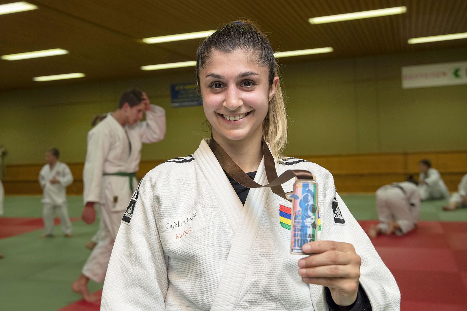Nouvelle médaille d'argent pour Priscilla Morand!