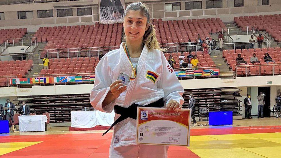 Priscilla Morand médaille d'argent
