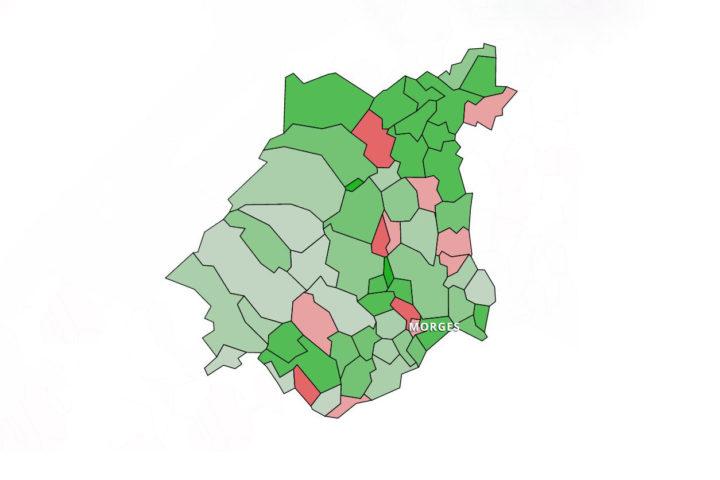 Votations: le district a suivi la tendance populaire