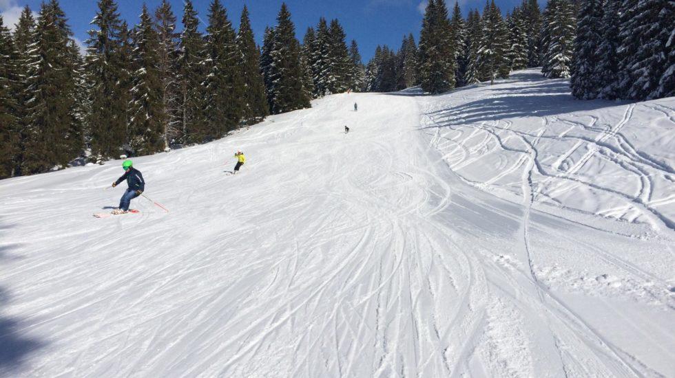 Ouverture des pistes de ski à la Vallée de Joux