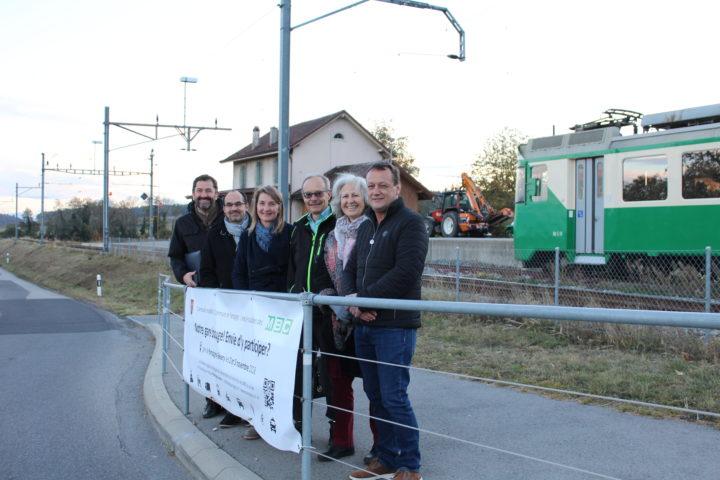 Les MBC et Pampigny dessinent la future gare