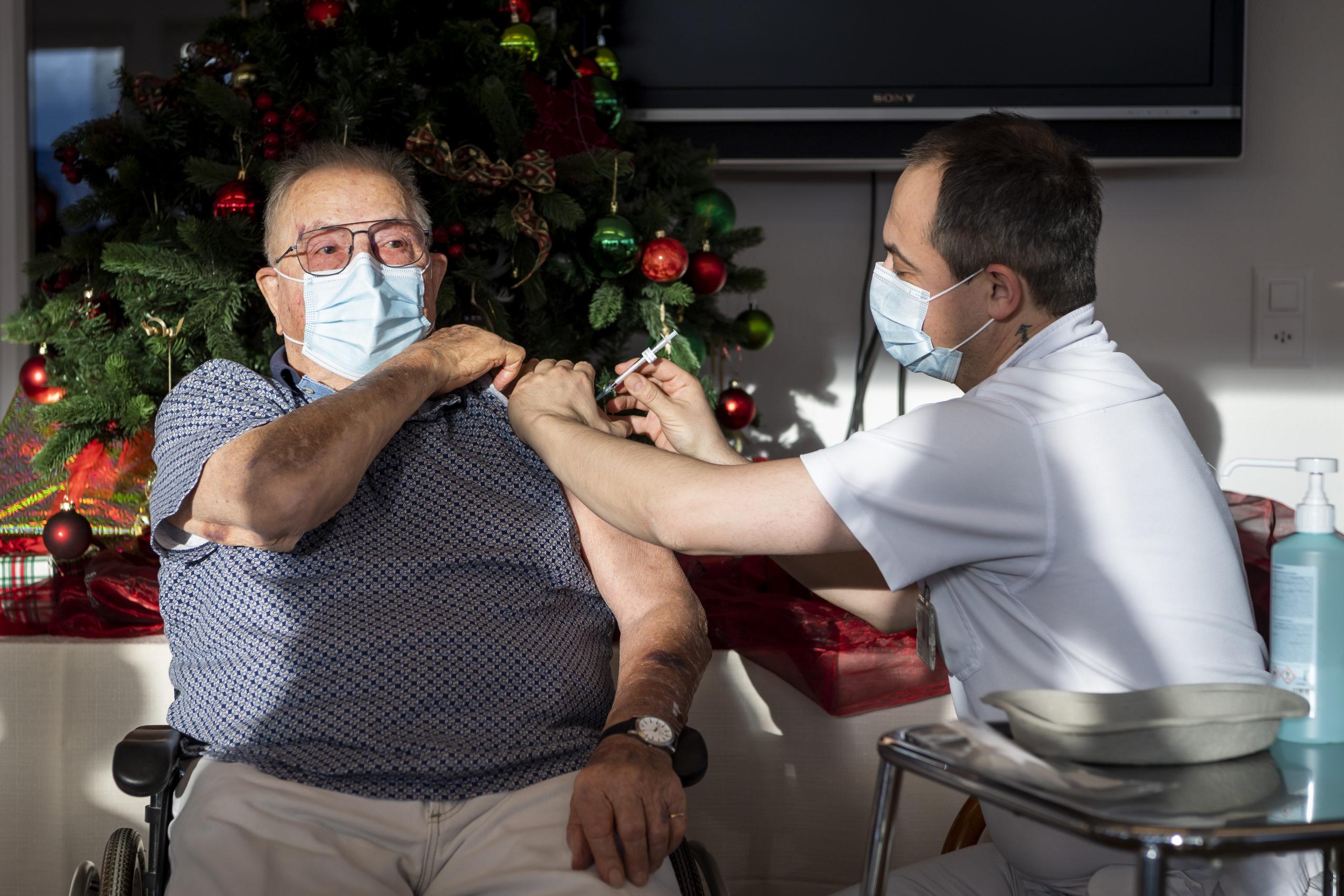 Première vaccination dans le canton de Vaud