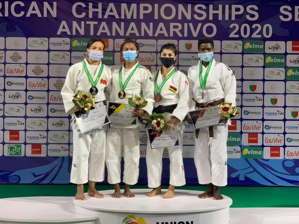 Priscilla Morand «bronzée» aux Championnats d'Afrique