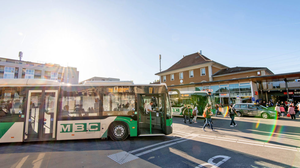 La fréquentation des transports publics a chuté de 60%