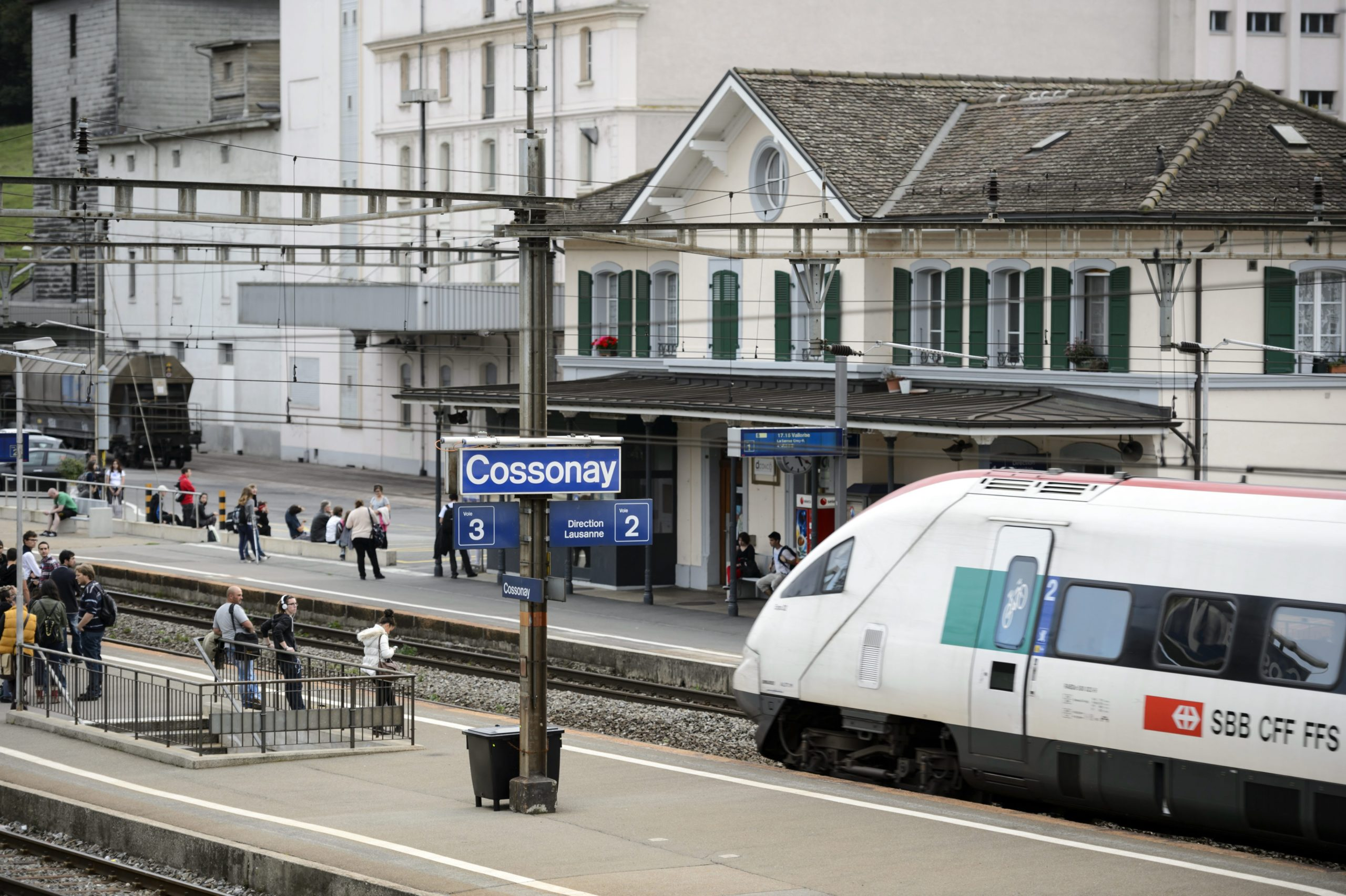 La gare de Cossonay-Penthalaz en travaux jusqu'à l'été 2022