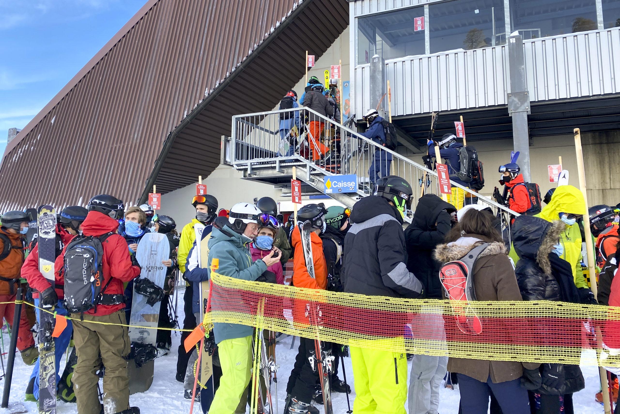 L'accès aux pistes de ski vaudoises pourrait être limité