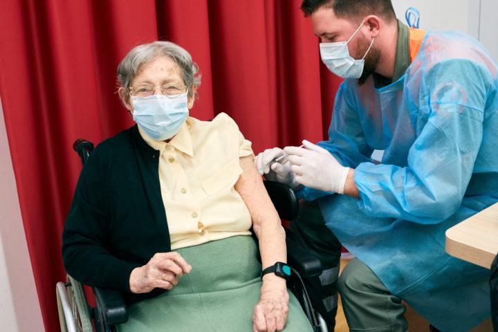 Vaccination pour les plus de 65 ans dès le 29 mars