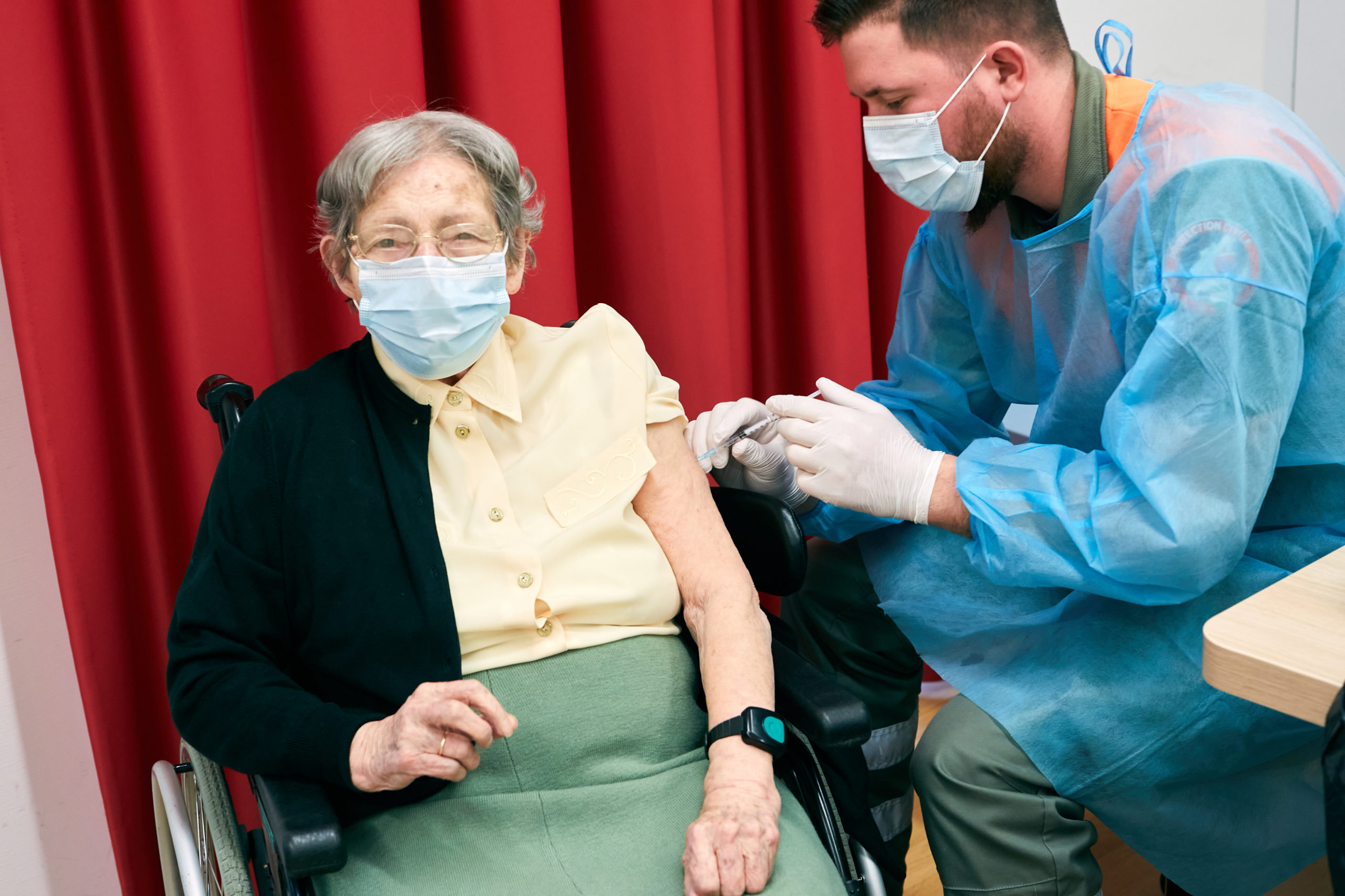 L'EHC vaccine 230 personnes en deux jours