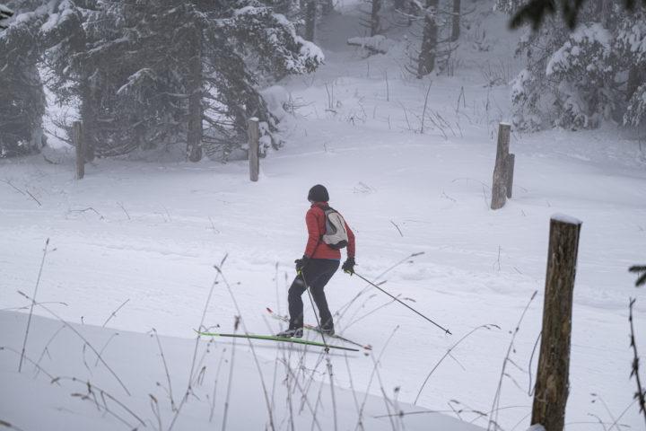 Les amateurs de ski de fond soufflent le chaud et le froid