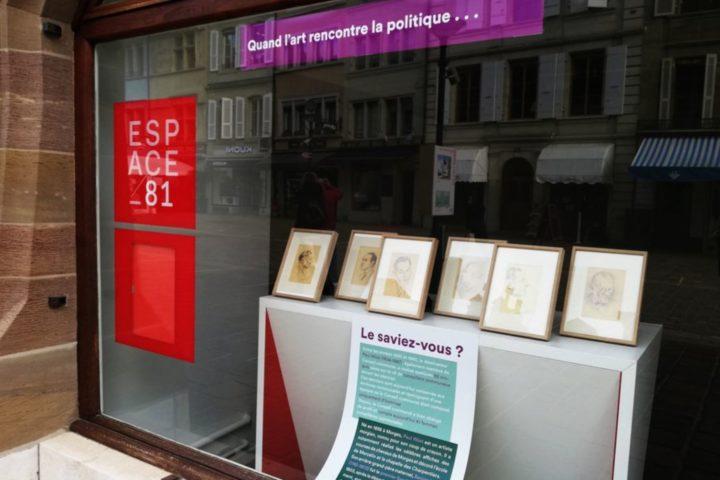 L'art à la rencontre de la politique à l'Espace 81