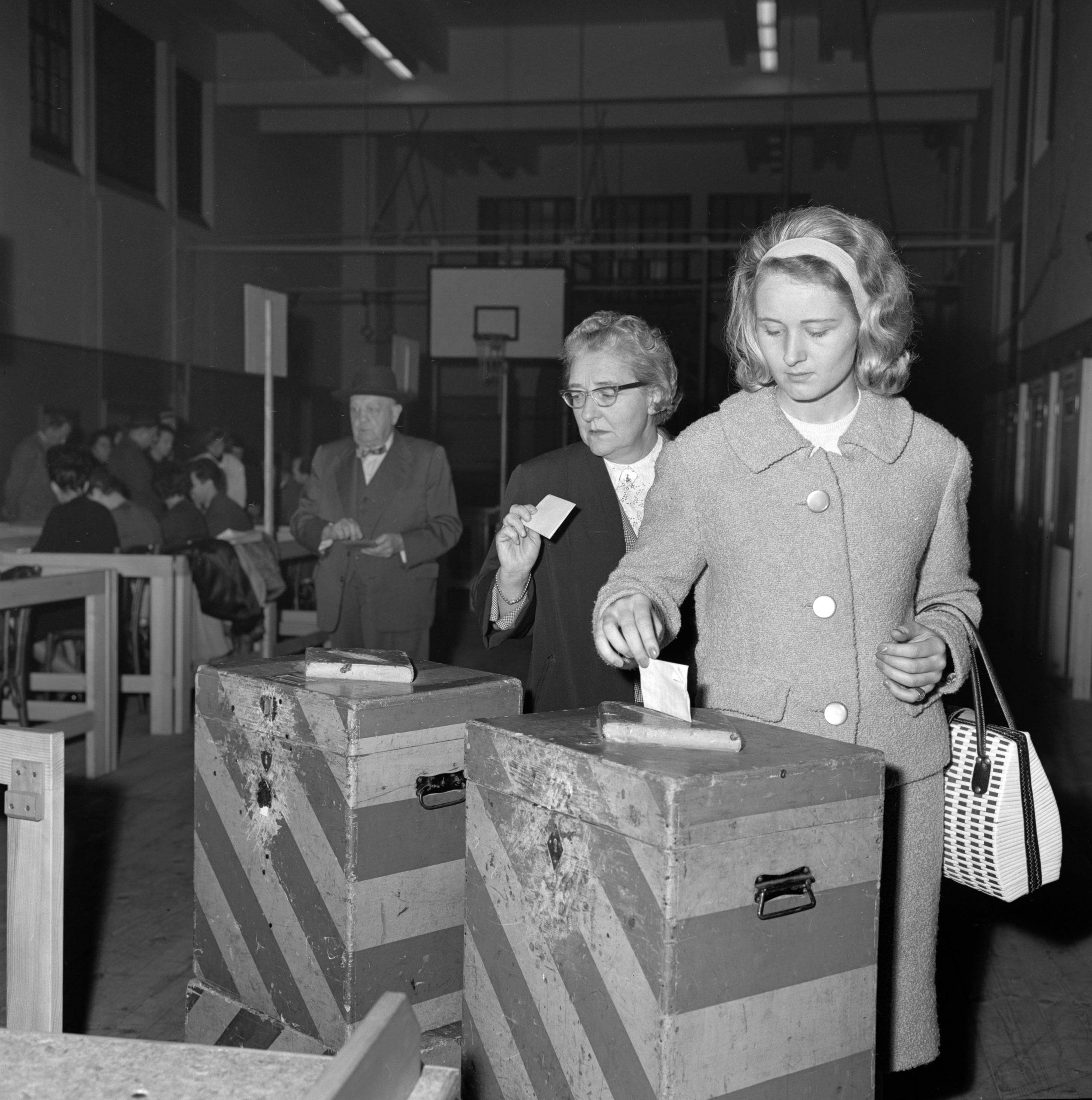 Le pouvoir de vote des femmes