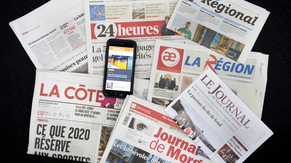La presse vaudoise recevra un coup de pouce du canton