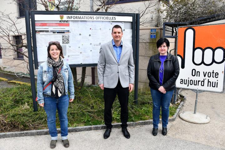 Trois élus et deux malchanceux à Lonay