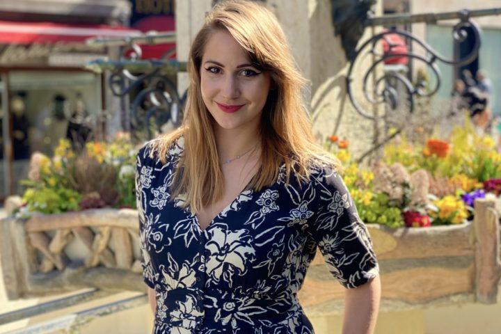 La lauréate Marielle Blanc.