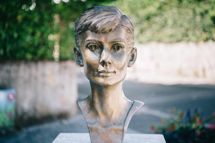 Audrey Hepburn en star de l'été morgien