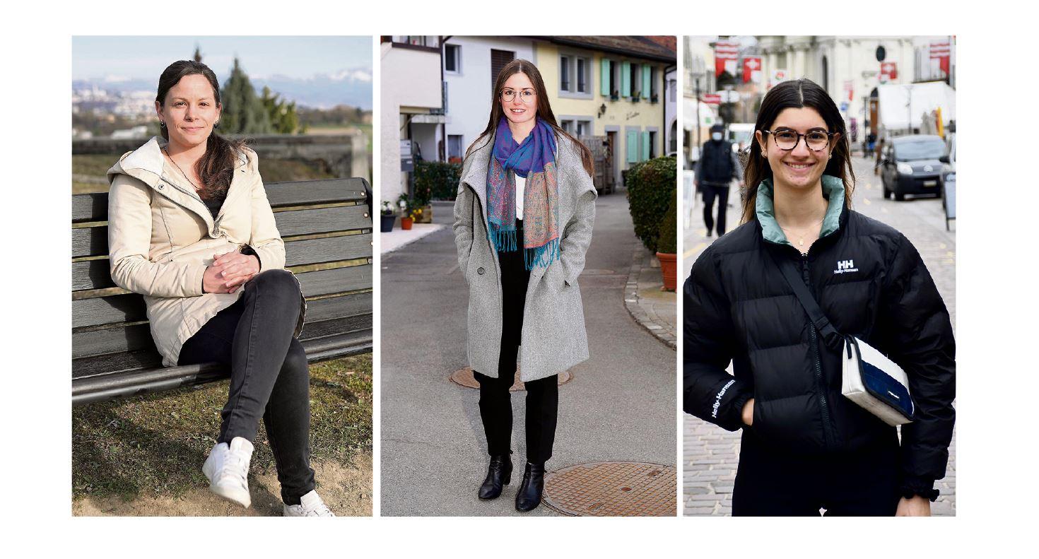 Jeunes femmes brillamment élues