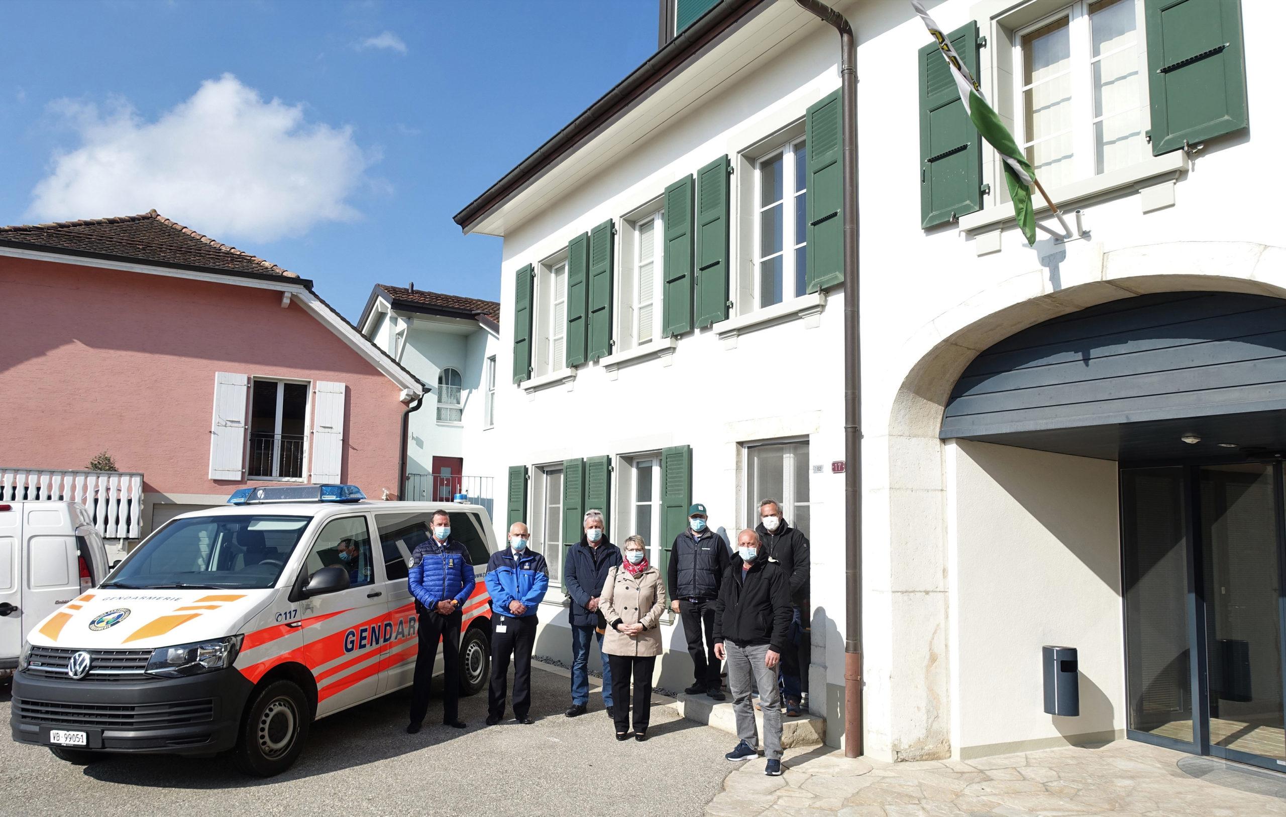 Une nouvelle antenne de Gendarmerie à Apples