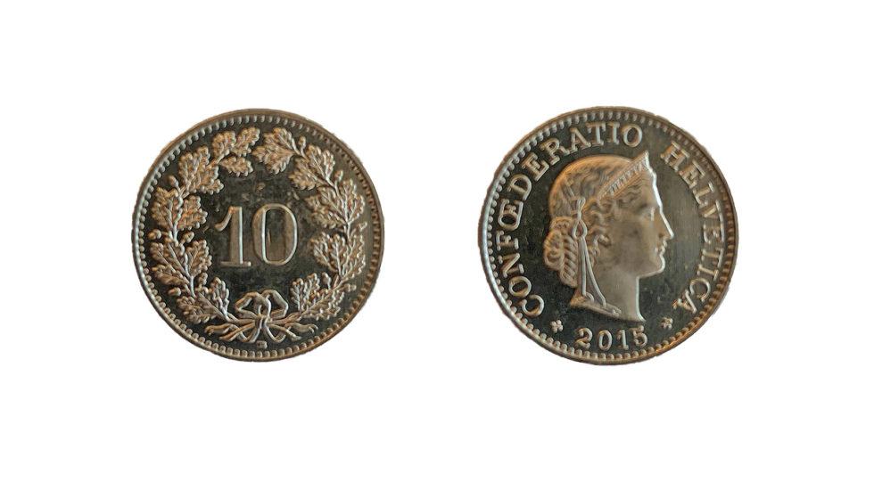 La monnaie suisse dans le livre des records