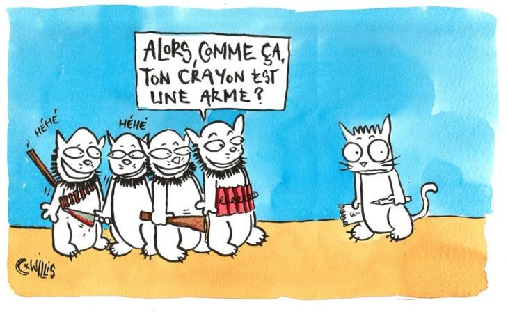 Dix ans de printemps arabe en dessin de presse