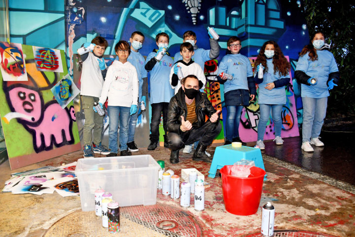 L'art de rue réunit en ces temps de pandémie