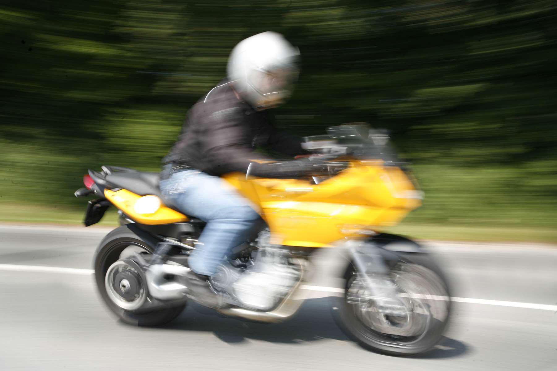 Bussy-Chardonney: moto flashée à 153 km/h