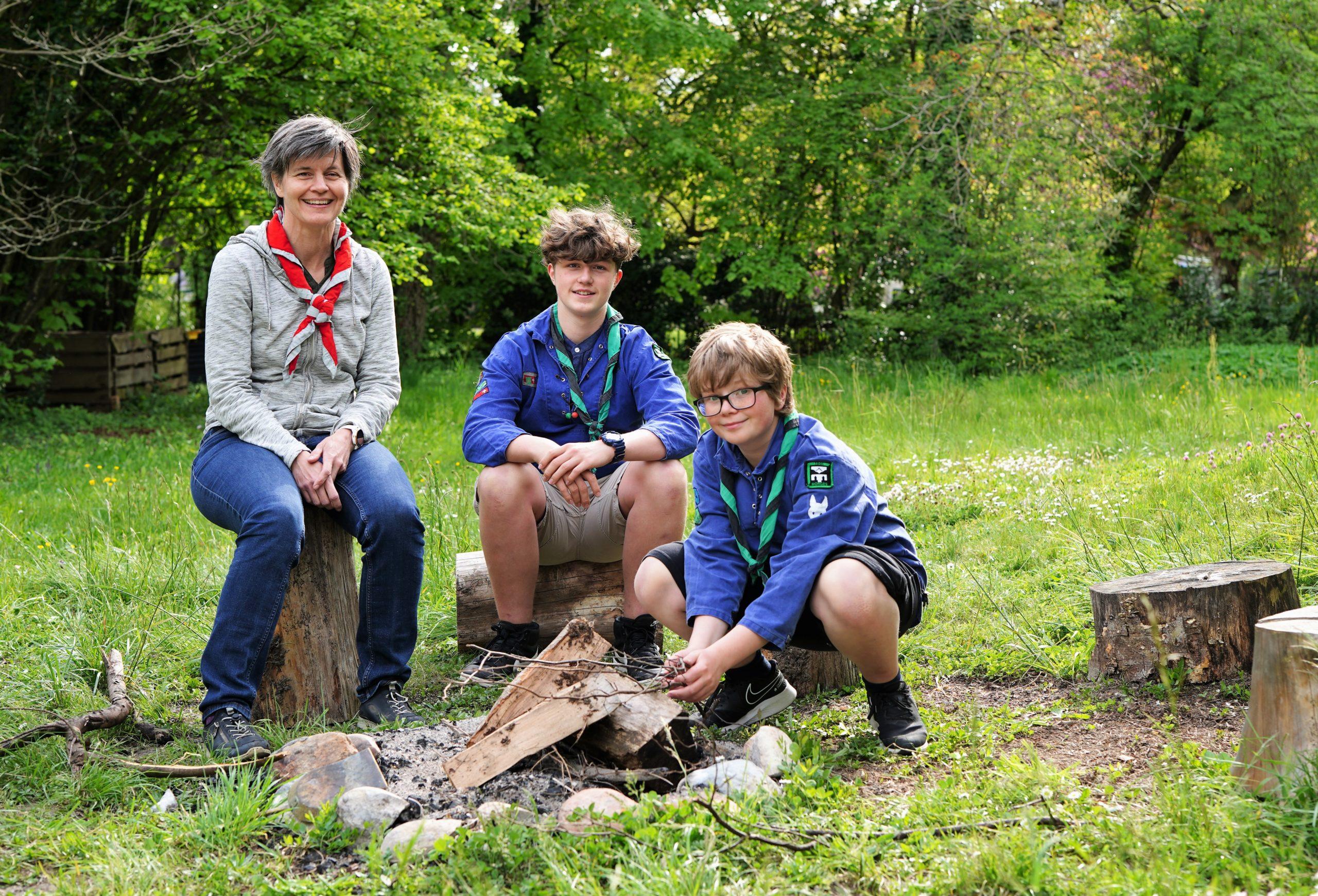 Le scoutisme, une tradition familiale